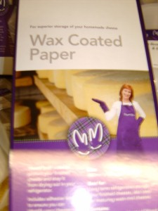 Wrap Wax Coated Paper
